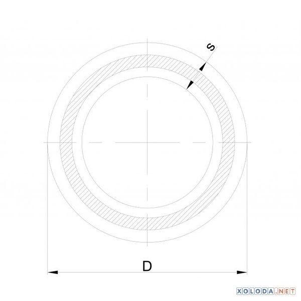 Труба PPR Heisskraft армированная стекловолокном, 25x2000 мм. PN20
