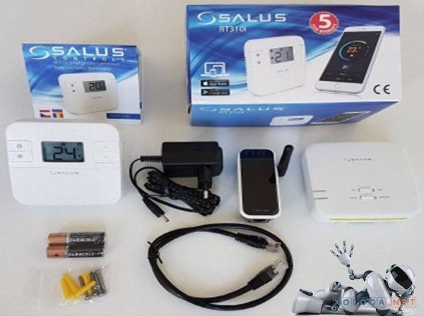 Salus RT310i, программируемый беспроводной интернет термостат