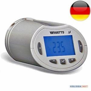 Watts BT-THR02-RF, радиотермостат электронный (термоголовка)