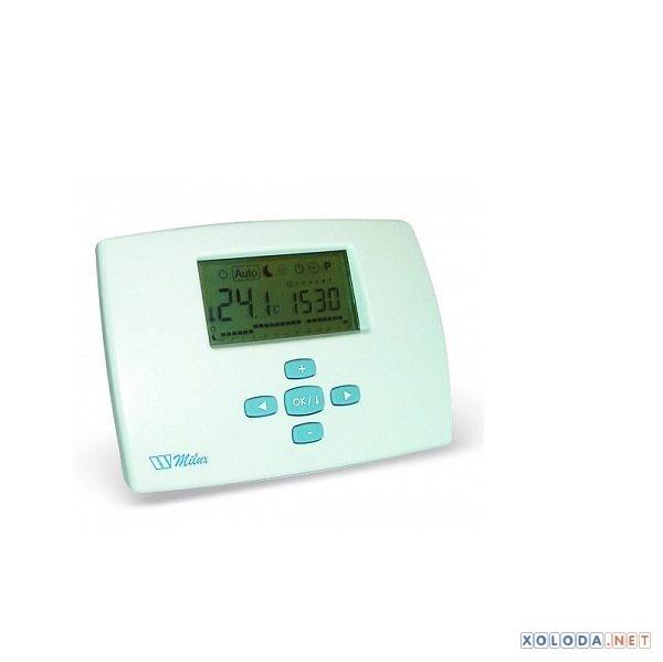 Watts MILUX , компакт. термостат с дневн. программированием