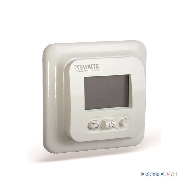 Watts EFHT LCD, термостат скрытого монтажа с ЖК дисплеем