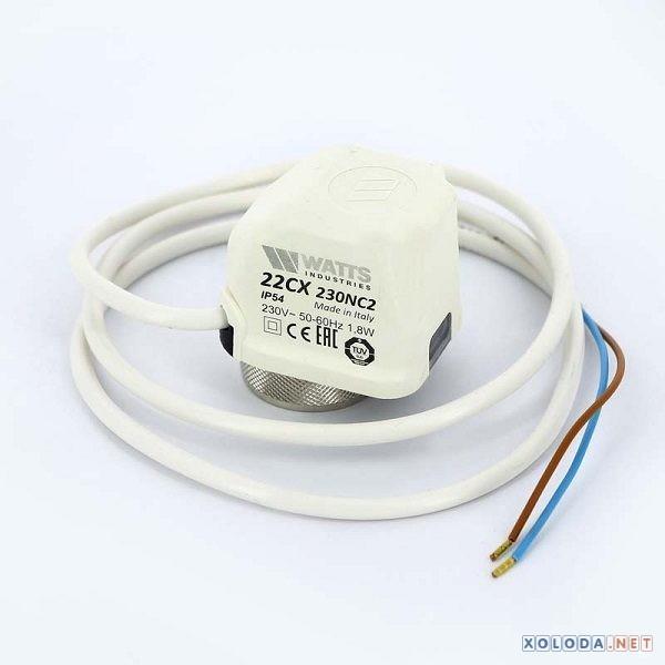 Watts 22CX230NC2, сервопривод