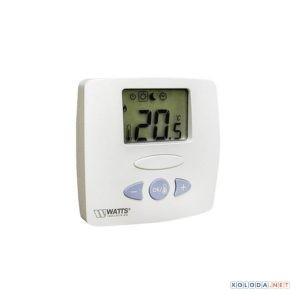 Watts WFHT-LCD, терм. комн. откр/закр.сервопр.(5-30'С,24В)