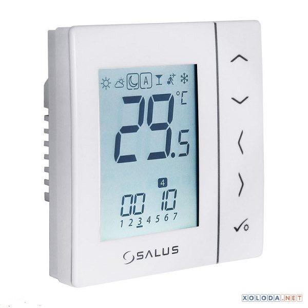 Salus VS10W, комнатный термостат цифровой (белый)