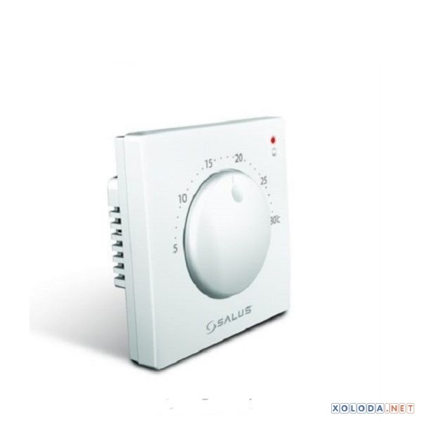 Salus VS05, комнатный термостат механический суточный, (белый)