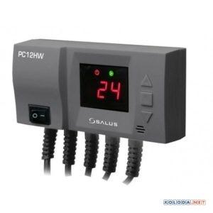 Salus PC12HW, регулятор для управления насосом ЦО и ГВ