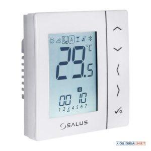 Salus VS10WRF, беспроводной комнатный термостат 4 в 1 (белый)