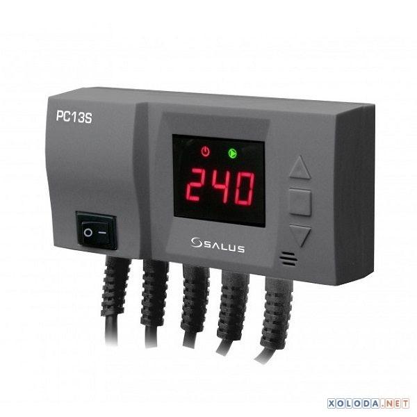 Salus PC13S, регулятор для управления насосом солнечного коллектора и ЦН