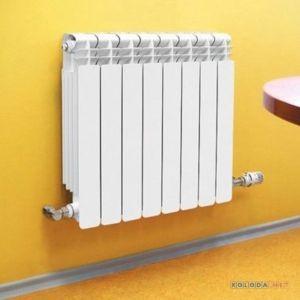 Монтаж радиаторного отопления